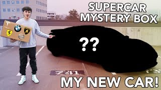 SUPERCAR MYSTERY BOX! (Revealing My New Car!)