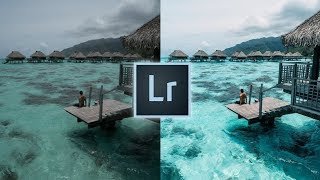 How to Edit Tropical Blue Travel Photos Like @benmikha Instagram Lightroom Editing Tutorial