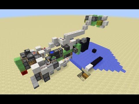 Fully Automatic AFK Mining Machine [Tutorial] (Minecraft 1.11+)