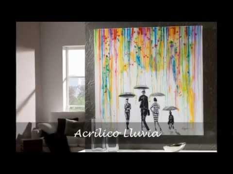 Decoraci n schuller cuadros acr licos jarrones for Imagenes de cuadros abstractos famosos