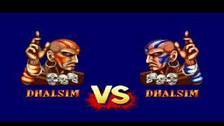 Street Fighter II Turbo Hyper Fighting (SNES) - Dhalsim