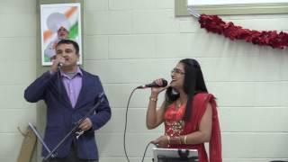 Loote Koi Man Ka Nagar on Karaoke I Ramesh Verma I Purnima Bhat I INCA Hall Calgary