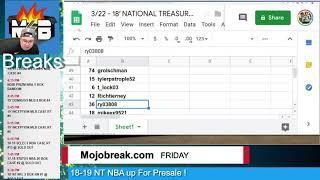 Random Draw Results - 2018 NT Football 2 Box Break Number #7 - 03.22.19