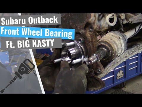 Subaru Outback Repair Series: #3 Front Wheel Bearing