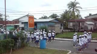 Bocas Del Toro, Panama.  Parade.  Flag Day.  4 November, 2009.