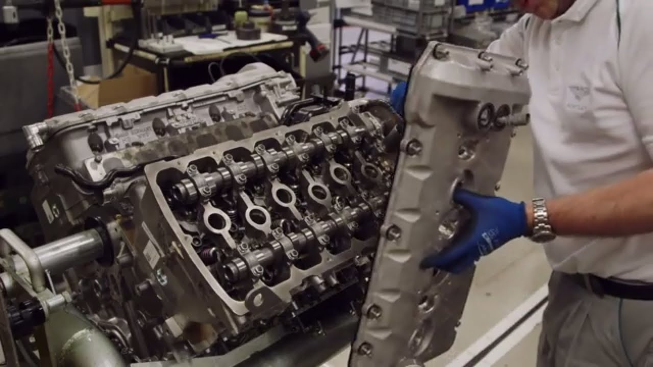 How it's made: Bentley W12 engine  YouTube