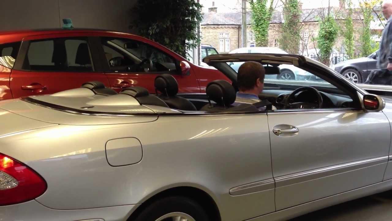 fp05npc mercedes clk convertible roof operation for sale youtube rh youtube com mercedes slk manual roof operation Mercedes CLS