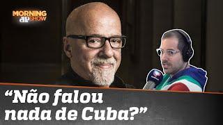 Paulo Coelho detona imagem do Brasil lá fora: 'Um dos países mais execrados do m