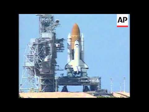 USA: FLORIDA: SPACE SHUTTLE COLUMBIA HAS SUCCESSFUL BLAST OFF