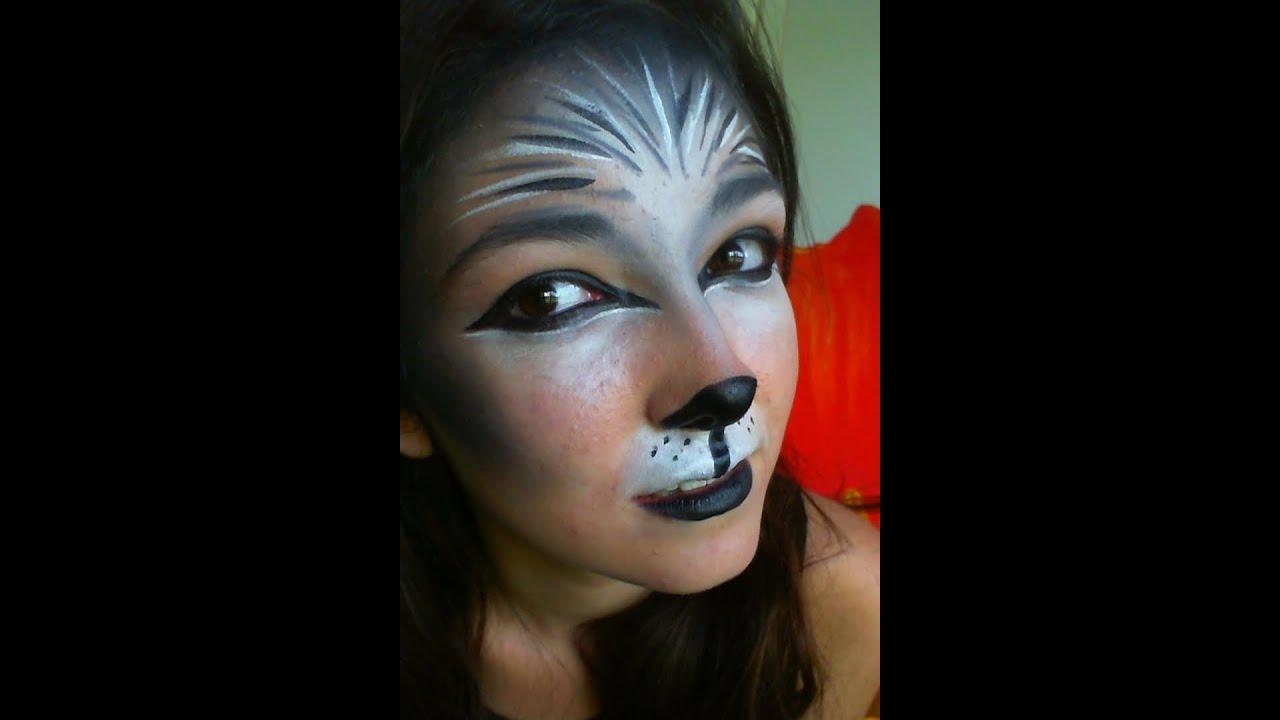 Wolf Animal Makeup