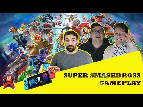 Super Smash Bross  [Gamplay]-[The Rolling Gamers]#3