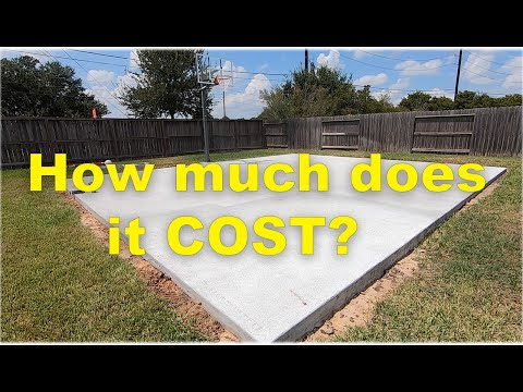 DIY Basketball Court - How much does it cost?