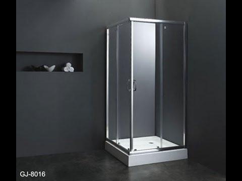 Buy Double Sliding Door Semi Frameless Shower Screen In Melbourne   YouTube