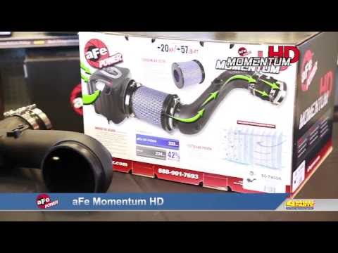 aFe Momentum HD Cold Air Intake for full size diesel trucks