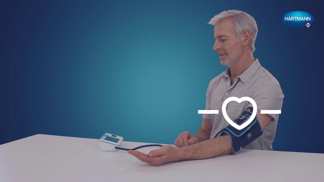Cómo medir la presión arterial - Tutorial HARTMANN - YouTube