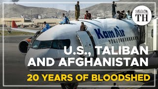 The U.S., Taliban and Afghanistan: 20 years of bloodshed