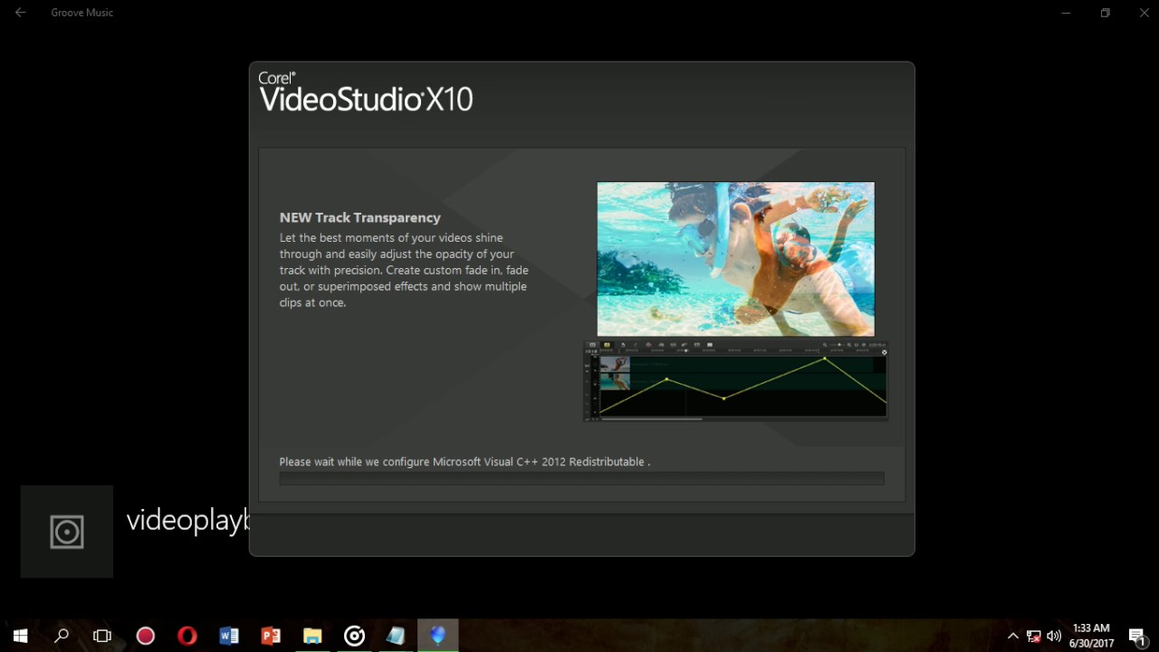 corel videostudio x9 we encountered a problem while installing