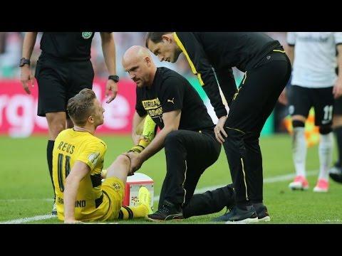 Sorgen um Reus: Erster großer Titel, aber Schmerzen im Knie