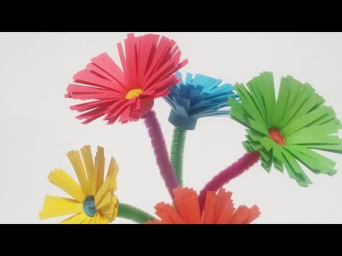 How to make beautiful paper daisies