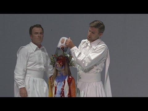 احياء مسرحية موسيقى قداس الموت لموتسارت في مدينة أكس بروفونس…  - 18:54-2019 / 7 / 11