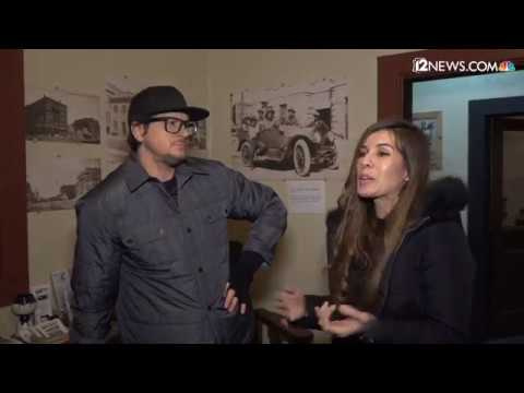 Uncensored: Zak Bagans from Ghost Adventures visits Globe and some 'friends' make an appearance