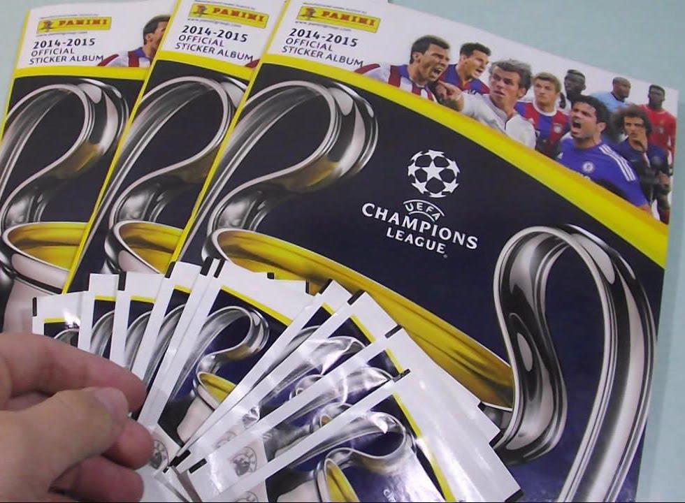 Panini Uefa Champions League 2015 2014 15 Sticker Album Youtube