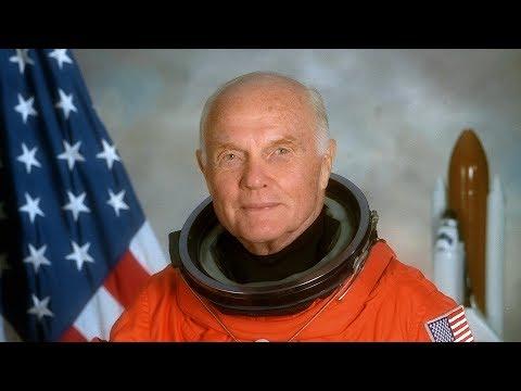 Astronaut John Glenn  'Wir durften nie die Wahrheit sagen'