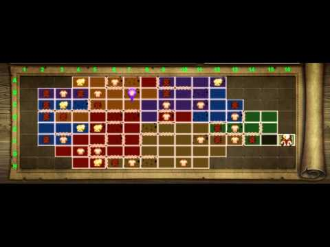 Hyrule Warriors - Twilight Challenges Map (Completed!)