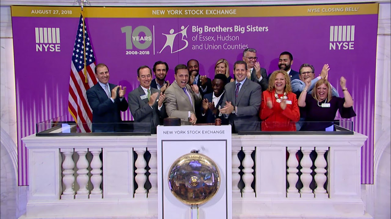 10th Anniversary - NYSE Closing Bell - 2018