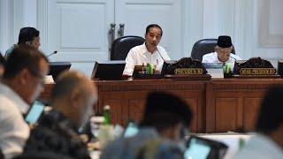 Presiden Jokowi Pimpin Ratas Program Pendidikan dan Beasiswa, Kantor Presiden, 12 November 2019