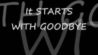 Download Starts With Goodbye Carrie Underwood with Lyrics MP3 song and Music Video