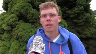 Matěj Vocel po čtvrtfinále deblu na turnaji Futures v Ústí n. O.