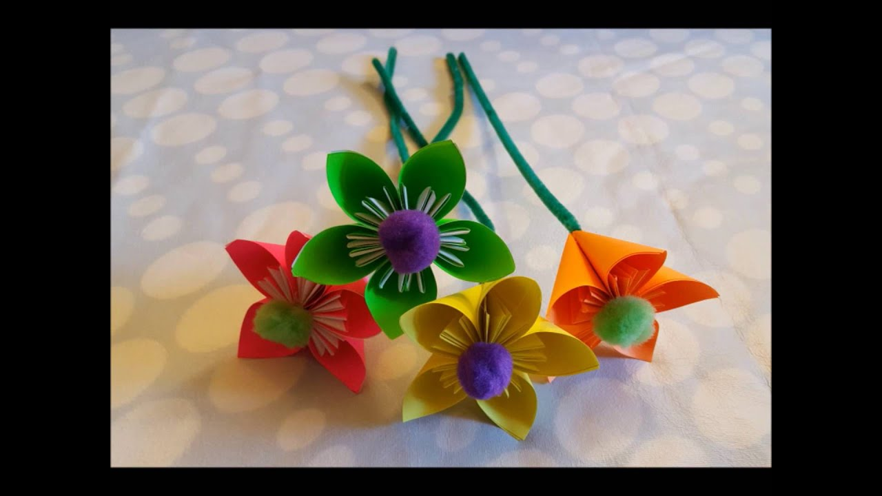 How to make paper flowers creative art simple diy steps youtube how to make paper flowers creative art simple diy steps mightylinksfo