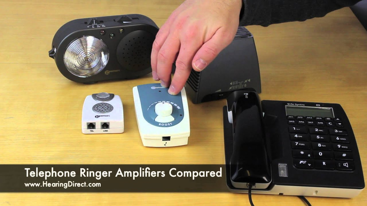 Telephone Audio Visual Indicator Circuit Schematic Diagram Ringer Amplifiers Compared Youtube