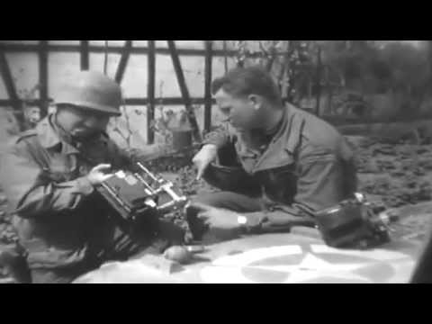 Signal Corps Cameramen Film US 7th Army, Germany, 1 April 1945 (full)