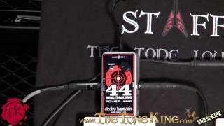 Electro-Harmonix 44 Magnum Power Amp Demo & Review EHX .44 mag