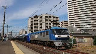 2019/11/7    E261系[サフィール踊り子]  甲種輸送①  安城駅入線