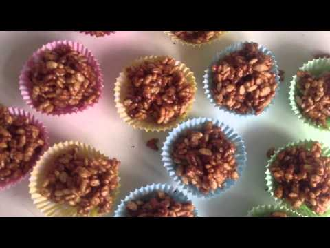 How To Make Chocolate Rice Crispy Cakes