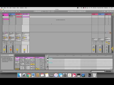 Scene Launch Action in Ableton Live using IAC Driver