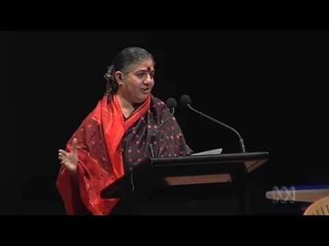 Dr Vandana Shiva 2010 City of Sydney Peace Prize Lecture