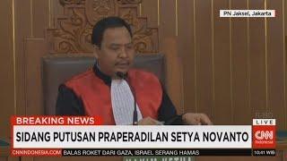 Video Breaking News! Sidang Putusan Praperadilan Setya Novanto; KPK Menang download MP3, 3GP, MP4, WEBM, AVI, FLV Desember 2017
