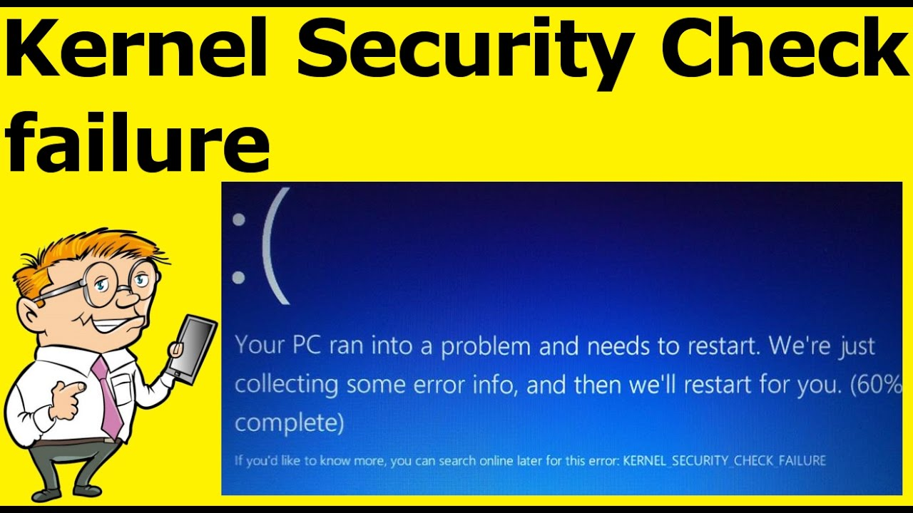 Windows 10 stop code kernel_security_check_failure | How to fix