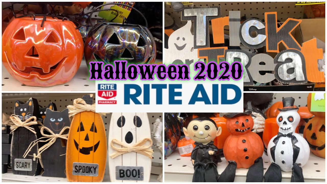Rite Aid Christmas Hours 2020 Rite Aid Halloween 2020 🎃 50% Off ‼️Shop With Me   YouTube