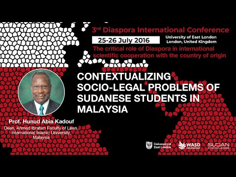 Contextualizing socio-legal problems of Sudanese students in Malaysia