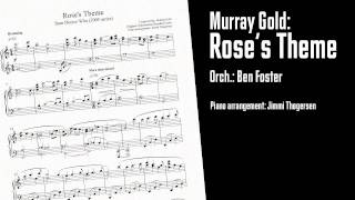 Murray Gold: Rose's Theme (from Doctor Who - piano arrangement) Resimi