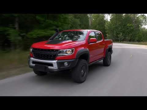 Chevy introduces the 2019 Colorado ZR2 Bison pickup - YouTube