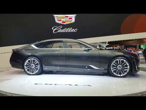 Cadillac Escala Concept @ North America International Auto Show 2017