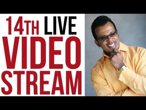 14th Live Stream - The Number 13 and 2013 with Carlton Pearson
