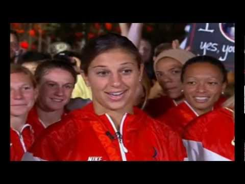 US WNT Wins Gold In Beijing Interview