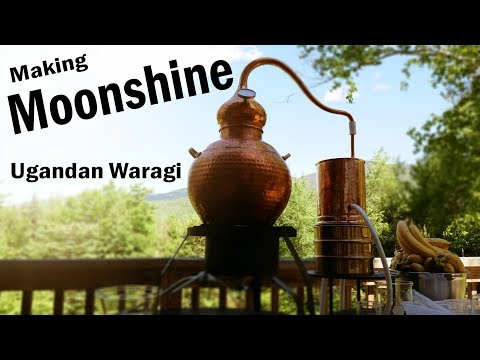 Banana Brandy  Making Ugandan Waragi Moonshine